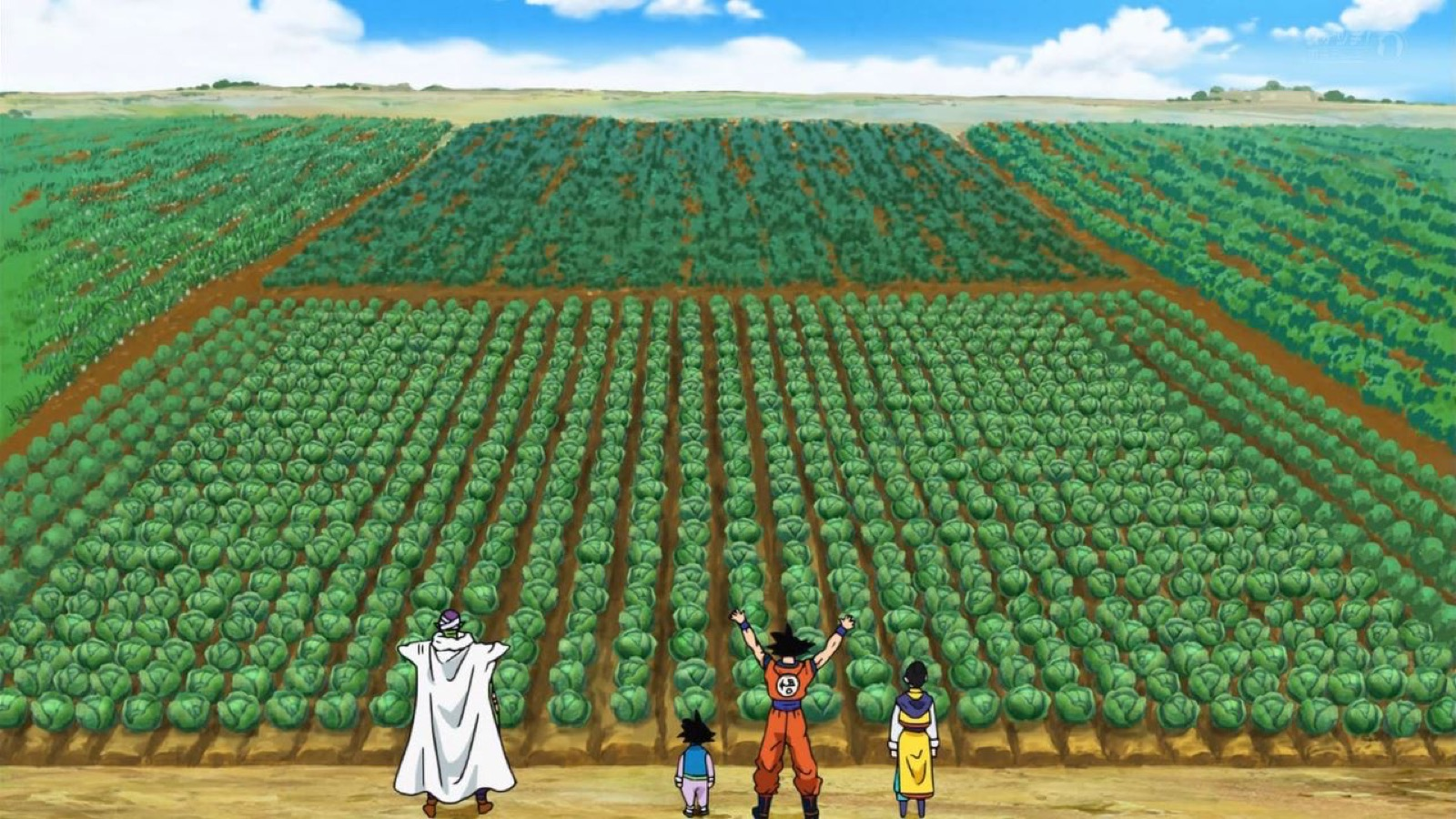 Dragon Ball Super Crops