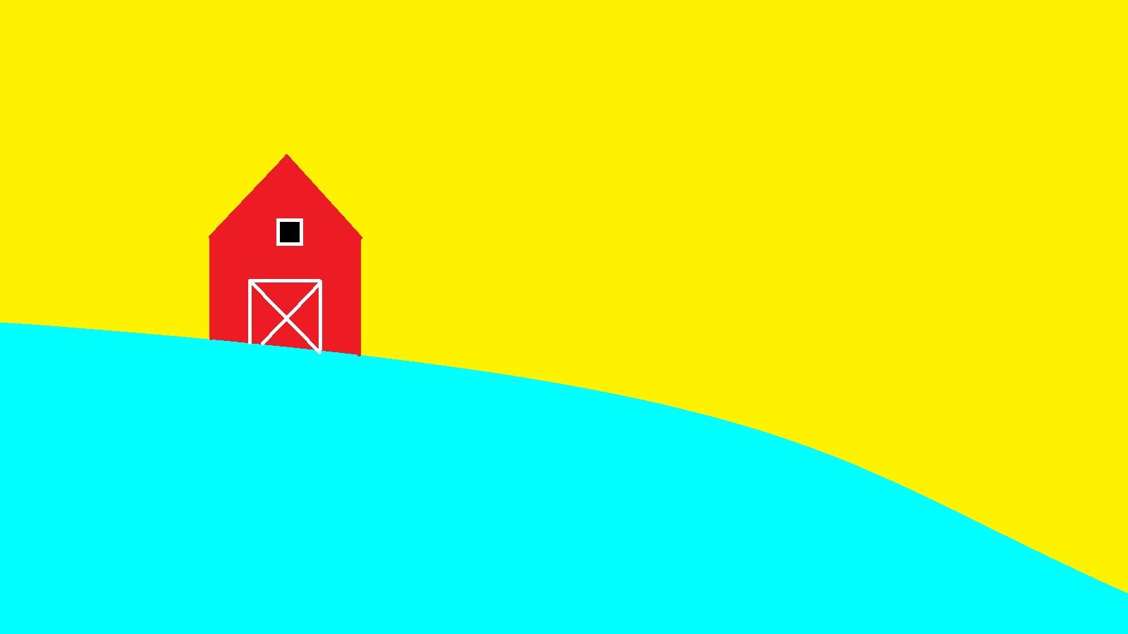 Cam's insanely bright farm