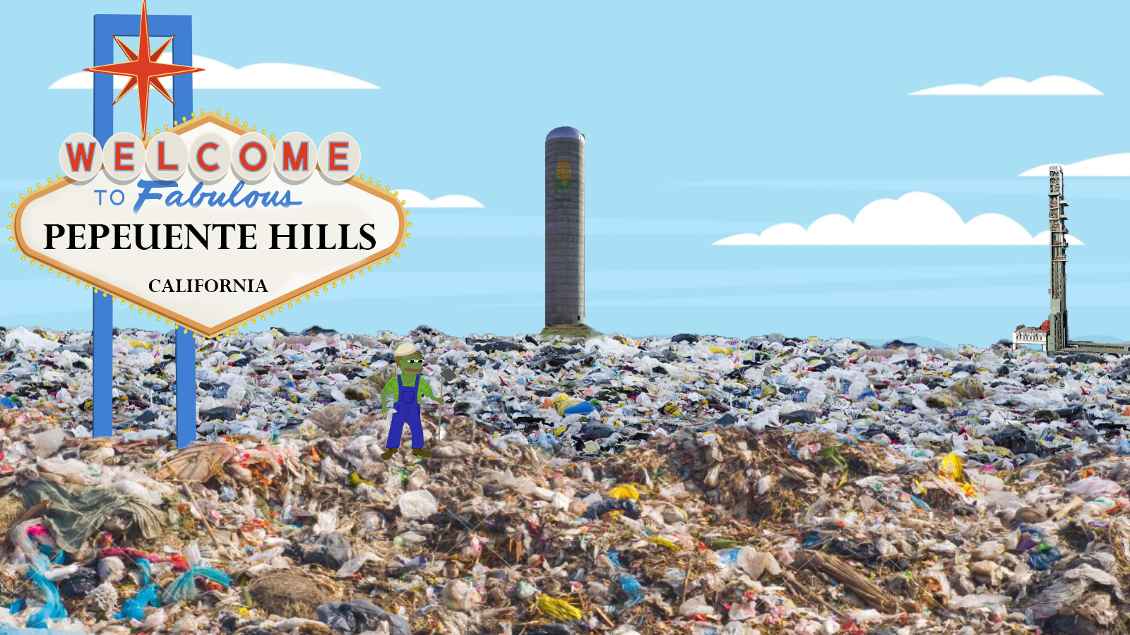 Pepeuente Hills Garbage Farm