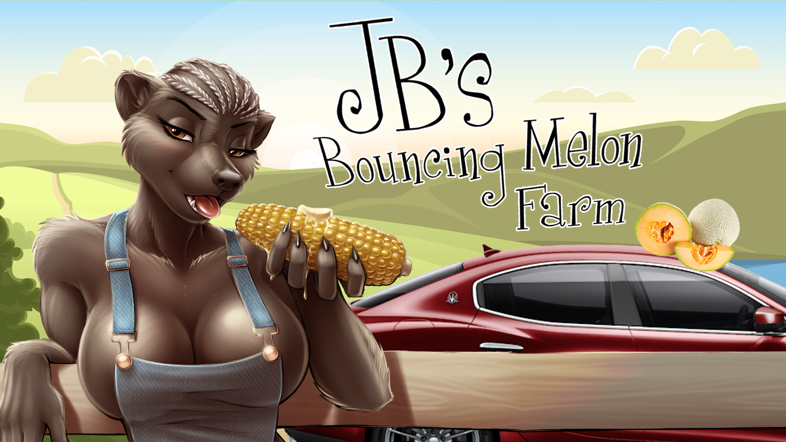JB's Bouncy Melon Farm